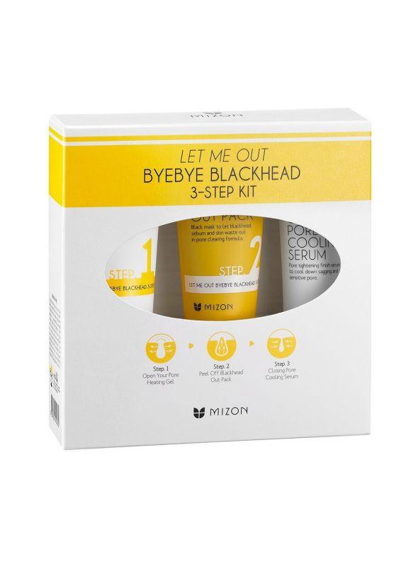 Let Me Out Bye Bye Blackhead 3-Step Kit